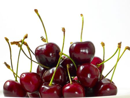 Black Cherries Stock Photo - 1354283
