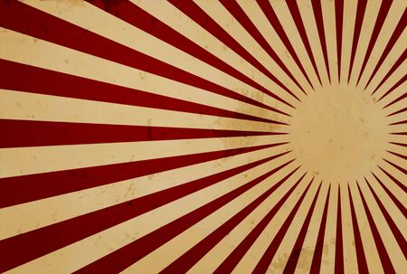 brownish: Grunge design with red rays over brownish background Stock Photo
