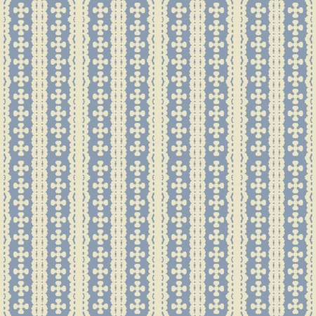 Damask seamless pattern with creme design over pale blue background Stock Photo - 9441612