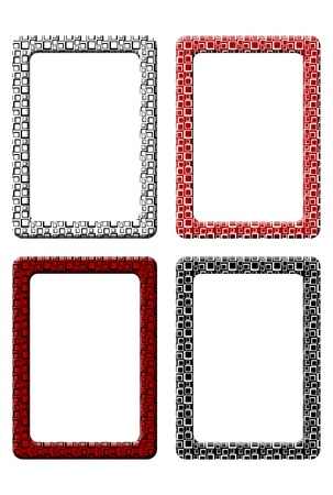 Rectangular frames with SIxties squares optical design