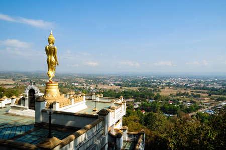 Buddha Wat Phra That  Khao Noi, Thailand photo