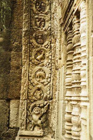 Dinosaur statue at Angkor Wat