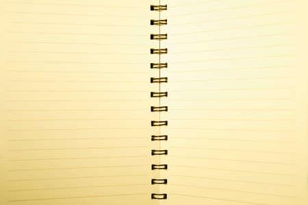 foglio di carta notebook