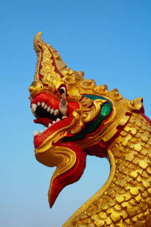 naga china: Thai dragon or king of Naga