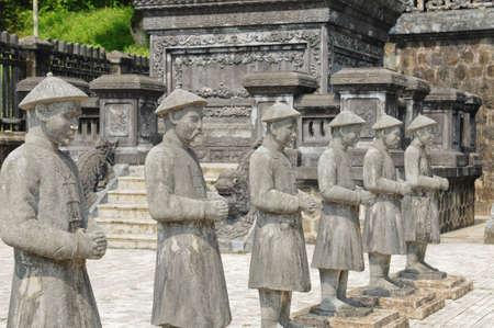 Statua tradizionale di Khai-Dinh (Vietnam)