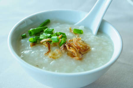 Traditional vietnam porridge rice