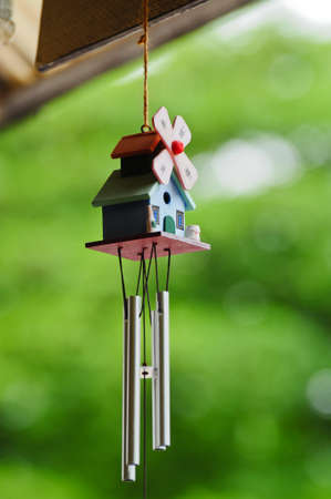 A Wind chime Stock Photo