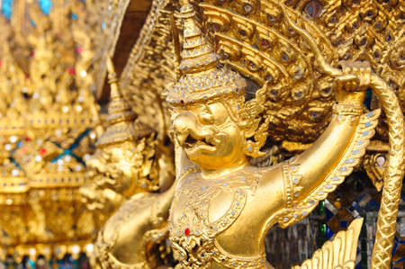 The Garuda at the Emerald Buddha Temple photo