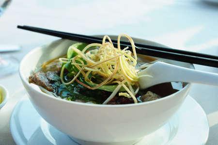 Noodle in stile vietnam Archivio Fotografico