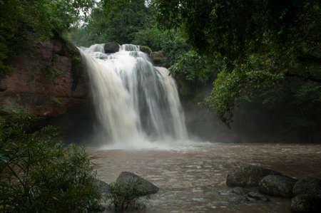 waterfall in Khao Yai National Park, Thailand Stock Photo - 9898400