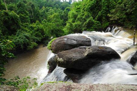 Waterfall in Khao Yai National Park, Thailand Stock Photo - 9898403