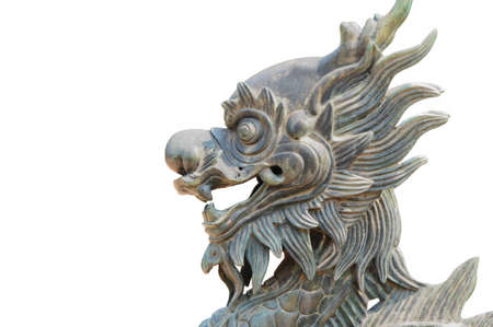 Vietnam lion statue