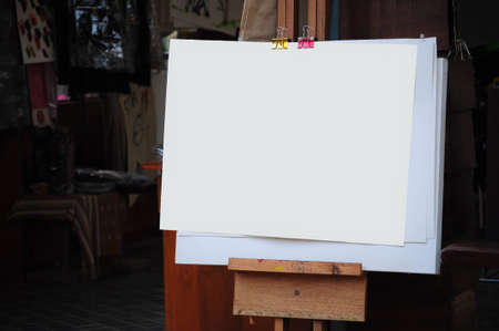 empty paper for painting Stock Photo - 10256970