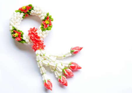 fiore in stile tradizione tailandese