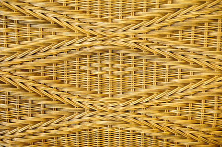 surface wicker chair Stock Photo