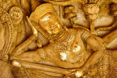 statua in stile asia Archivio Fotografico
