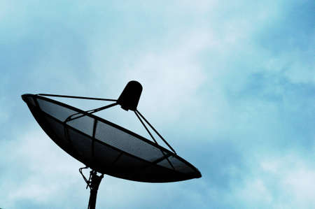 antennae: satellite dish
