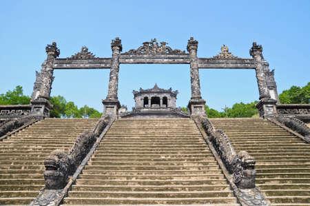 hue: Tomb of Emperor Khai Dinh, Hue, Vietnam