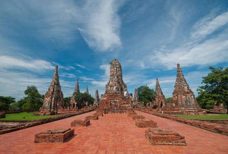 Ruins of Chaiwatthanaram Temple, Thailand