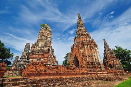 Wat Chaiwatthanaram Temple. Ayutthaya Historical Park, Thailand