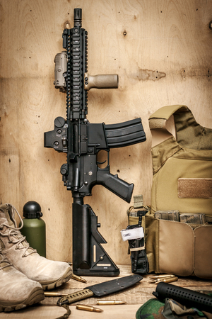 assault rifle: Assault rifle - special forces