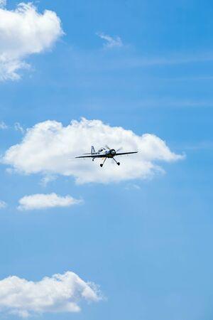 sport aircraft perform acrobatics at air shows