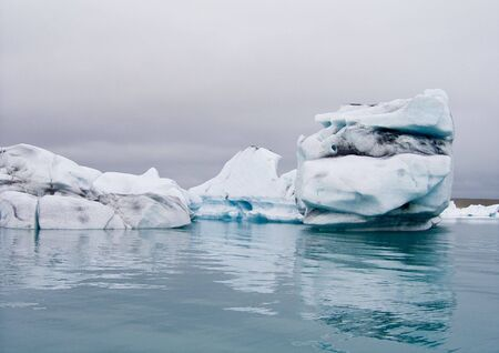 Iceberg in Jokulsarlon lagoon. Iceland Stock Photo - 3415865