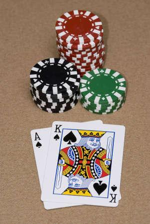 texas hold em: As Rey en un adecuado Texas Hold em juego.
