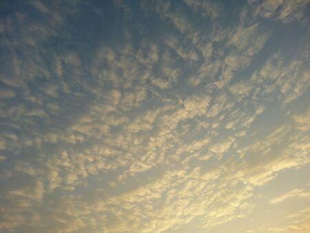 morning sky: Morning sky. Archivio Fotografico
