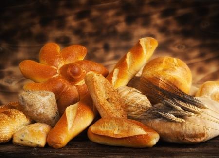 comiendo pan: Panes