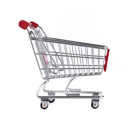 whitem: Isolated Shopping Cart on white background