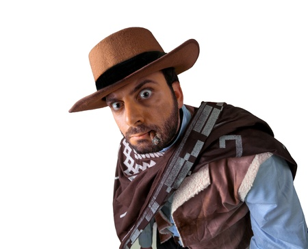 WOW gunman in the old wild west