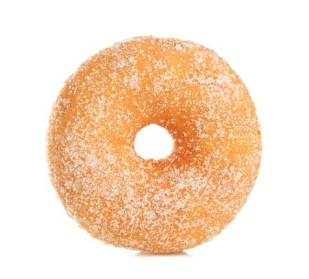Donut aislado sobre fondo blanco