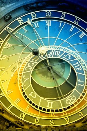 czech culture: Orloj astronomical clock in Prague in Czech Republic