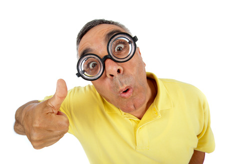 Surprised man with WOW expression on white backgound. Stock Photo - 26562152