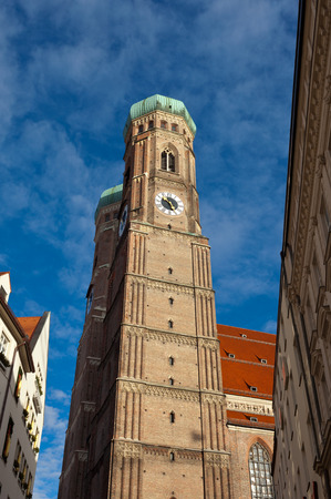 The Church of Our Lady  Frauenkirche  in Munich, Germany, Bavaria  photo