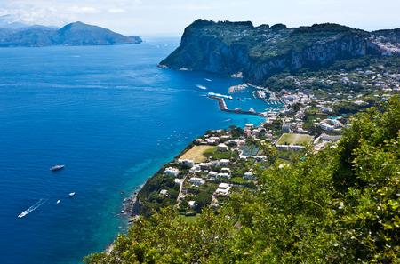 tyrrhenian: Capri island, Campania, Italy  Capri is an island in the Tyrrhenian Sea near Naples