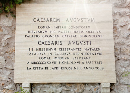 augustus: Beautiful public garden, Garden of Augustus Capri, Italy