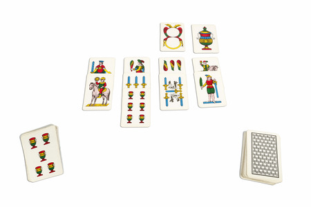 neapolitan: Card game with Neapolitan cards typical of Naples.