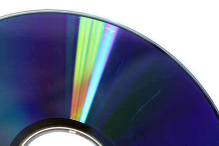 recordable: Data loss theme showing the surface of a scratched CD