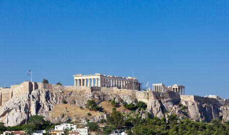 acropolis: Parthenon temple on Athenian Acropolis, Athens, Greece