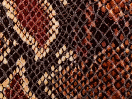 Abstract texture of synthetic leather, python macro background.