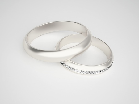 Silver rings photo