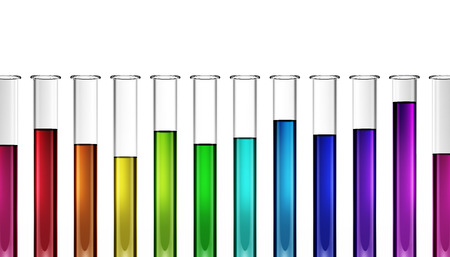 3d biology - chemicals - industry - solutions - test tube