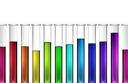 chemic: La tecnologia biotech - chimico - ricerca - provetta - 3d