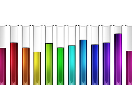 technology biotech - chemical  - research - test tube - 3d