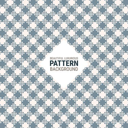 Beautiful luxurious pattern creative for plaid, fabric, textile, clothes, tablecloth and other things. A seamless vector background. This is a simple vector illustration with harmonious blend of retro and modern styles. Eps10 vector.
