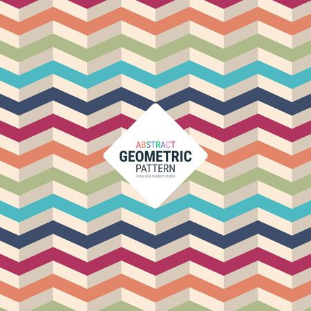 Abstract geometric pattern. A seamless vector background. This is a simple vector illustration with harmonious blend of retro and modern styles.