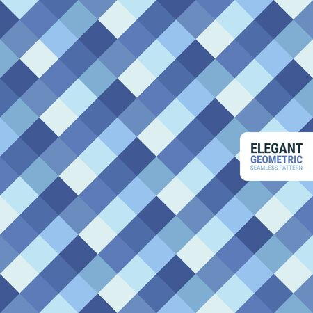 Elegant geometric seamless pattern. This is a simple vector illustration with harmonious blend of retro and modern styles. The color can be changed if needed. Eps10 vector. Illustration