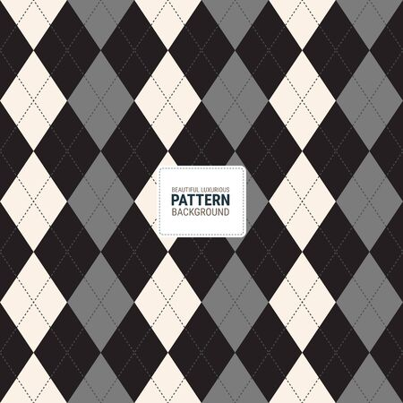 Beautiful luxurious pattern creative for buffalo, plaid, fabric, textile, clothes, tablecloth and other things. A seamless vector background. This is a simple vector illustration with harmonious blend